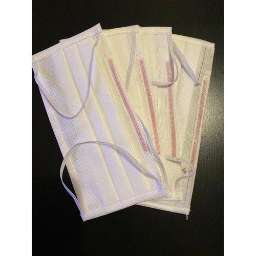 Máscaras de 3 pliegues con elástico